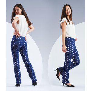 Betabrand Dress Pant Yoga Pants Straight-Leg Class